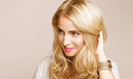 Haircut and Style with Optional Partial or Full Highlights at Thomas West Salon (Up to 73% Off)