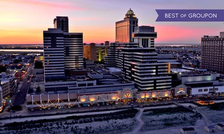 groupon daily deal - 1-Night Stay for Two with Dining and Slot Credits, for Check-In Sun–Thurs, at Tropicana Casino & Resort in Atlantic City