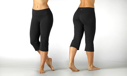 Women's Plus Size Dry-Wik Capri Leggings