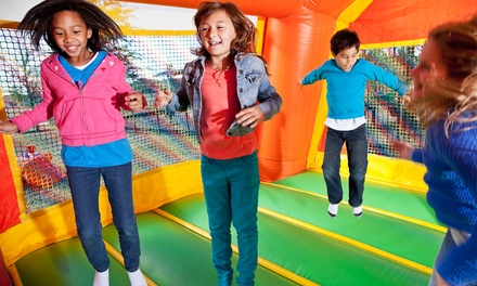 Six Open Jump Visits or One Week of Summer Camp at Pump It Up (Up to 40% Off). Three Options Available.
