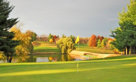 18-Hole Round of Golf for Two includes Cart Rental on a Weekday or Weekend at Kalona Golf Club (Up to 50% Off)