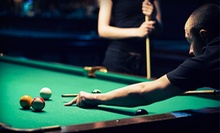 Pool, Pizza, and Soda for 2, 4, or Up to 10 at Java Billiards (Up to 70% Off)