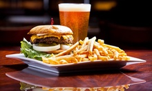 Bar Food, Drinks, or Both at Vintage Sports Grill (Up to 53% Off)