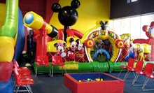 $6 for Juice, Popcorn, Unlimited Inflatables Playtime, and Eight Tokens at Go Bananaz (Up to $14 Value)