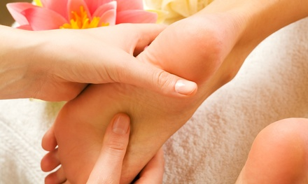 One, Three, or Five 60-Minute Reflexology Treatments at VIP Foot Spa (Up to 60% Off)