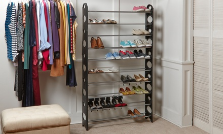 Wexley Home 50-Pair Shoe Tower