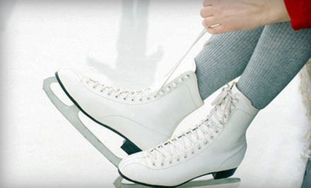 $10 for Ice-Skating Outing with Skate Rental for Two at Lloyd Center Ice Rink (Up to $20 Value)