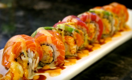 Japanese Cuisine at Hiro Sushi Japanese Cuisine (Half Off). Three Options Available.