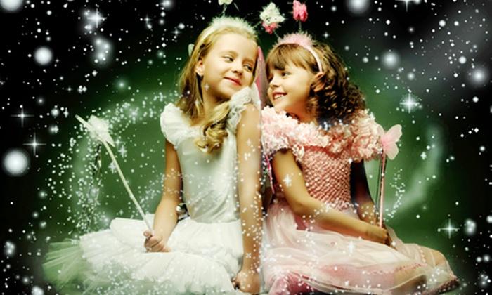 Wonderland Telford - Telford: Family Ticket for £14 For Winter Wonderland (62% Off)