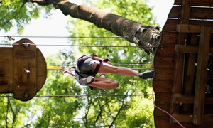 Two-hour Guided Hike And Obstacle Tour For One, Two, Or Four At Adventure Zip Kc (50% Off)