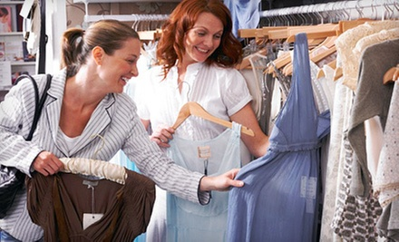 $25 for $50 Worth of New and Gently Used Apparel and Housewares at Nearly New Shop