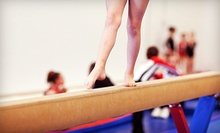 Month of Gymnastics or Dance Classes for One or Two, or Four Open-Gym Visits at Rigert Elite Gymnastics (Up to 55% Off)