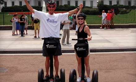 Two-Hour Segway Tour of Washington, DC for One or Two from Capital Segway (Up to 53% Off)