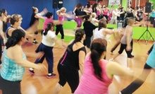 10 or 20 Dance-Fitness Classes at Brickhouse Cardio Club (Up to 71% Off)