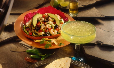 Dinner with Drinks for Two or Four, or $13 for $20 Worth of Mexican Food at 3 Amigos Mexican Bar & Grill