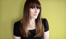Haircut Package with Optional Color or Partial Highlights or a Keratin Treatment at True Salon (Up to 54% Off)