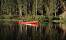 Rental of Two, Three, or Four Canoes with Shuttle Service from Riverwood Canoe (Half Off)