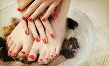 Gel Polish for Toes, Gel-Polish Manicure, or Both from Jennifer Haney at Cartel Inc. (Up to 53% Off)