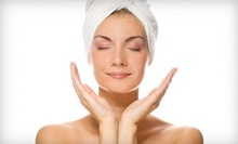 Spa Mani-Pedi or Spa Package for One or Two with European Facial, Mani-Pedi, and Wine at JS Hair Lounge (Up to 60% Off)