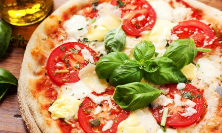 Italian Food at Brick Oven Pizza (Up to 54% Off). Four Options Available.