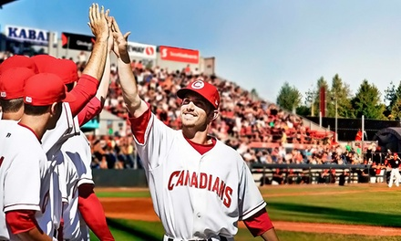 $12.50 for a Vancouver Canadians Baseball Game for Two at Scotiabank Field at Nat Bailey Stadium ($25 Value)