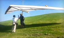 45-Minute Mini-Hill Hang-Gliding Experience for One or Two at Scooter Tow Hang Gliding School (Up to 51% Off)