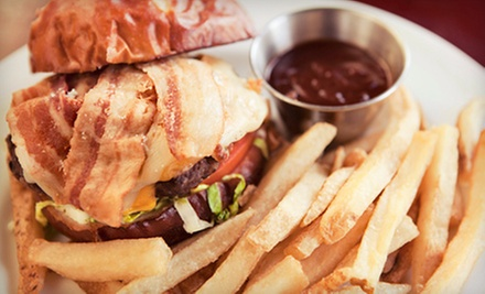 American Food and Drinks for Two or Four Big Tiny's Sports Grill (Up to 52% Off)