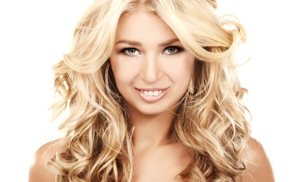 Haircut and Blow Dry with Optional Color and Keratin Treatments at Shear Sisters Studio (Up to 57% Off).