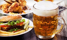 Lunch or Happy Hour at The Mighty Pint (Half Off). Two Options Available.