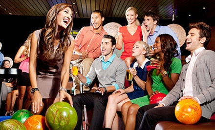 $ 25 for $ 50 Worth of Bowling and Shoe Rental at Bowlmor Orange County