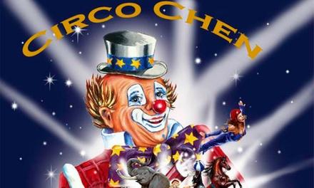 Bilhete de criança ou adulto para o Circo Chen desde 4,95 € em Alcântara de 21 a 31 de dezembro