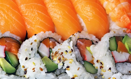 Sushi and Japanese and Chinese Cuisine for Takeout or Dine-In at Lemon Street Restaurant (Up to 50% Off)