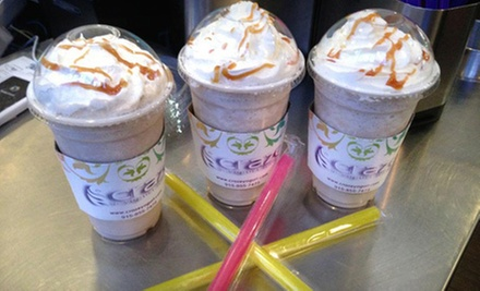 $4 for $8 Worth of Frozen Yogurt, Coffee, and Tea at Craze Yogurt