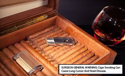 $15 for $30 Worth of Cigars and Smoking Accessories from CheapHumidors.com