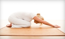10 or 15 Yoga Classes or Three Months of Unlimited Classes at Yogana Studio (Up to 70% Off)