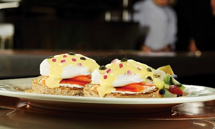 $15 for $30 Worth of Burgers, Crepes, Pasta, and American Cuisine for Dinner at Eggspectation. Five Locations Available.