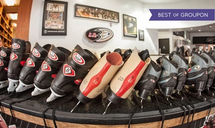 Ice Skating for Two or Four with Skate Rental at The Rinks (Half Off)