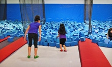 One Hour of Jump Time for Two or Four at Xtreme Hang Time Trampoline Park (Half Off). Three Options Available.