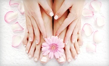 $37 for a Spa Mani-Pedi at Timeless Beauty Day Spa (Up to $85 Value)