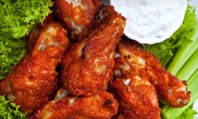 Domestic Beer and Wings for Two or Four at The CornerStone Sports Lounge (Up to 57% Off)