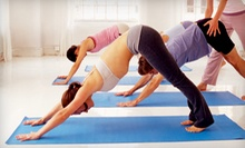 10 Yoga Classes or One Month of Unlimited Yoga Classes at Nava Yoga Studio (Up to 62% Off)