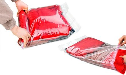 4 sacos de vácuo para viagens por 12,99€ ou 8 sacos por 22,99€