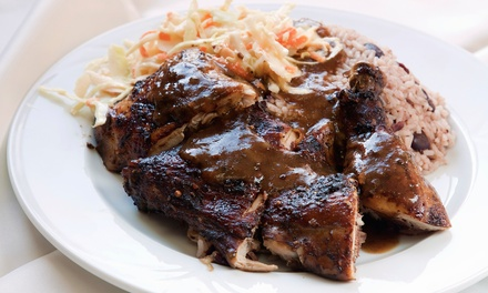 $12 for $20 Worth of Jamaican Food for Two at Reggae Wings & Tings