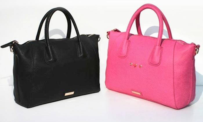 Groupon Goods Global GmbH: Designer Handbag for £25 With Free Delivery (58% Off)