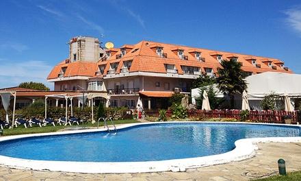 Hotel San Marcos — Pontevedra: 3 ou 5 noites para dois com regime de pensão completa e oferta de boas-vindas desde 199€