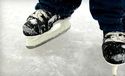 $9 for an Ice-Skating Package for Four at Patterson Ice Center (Up to $28 Value)