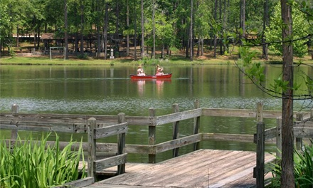 Two or Three Nights of Camping with One or Two Boat or Bike Rentals at General Coffee State Park (52% Off)