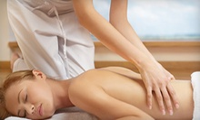 50- or 80-Minute Deep-Tissue Massage at Healing Waters Therapy (Up to 58% Off)
