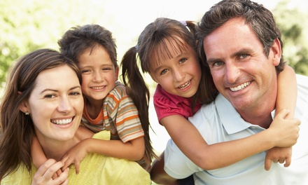 Dental-Checkup Package for One, Two, or Family of Four at Hickman Family Dental (Up to 83% Off)