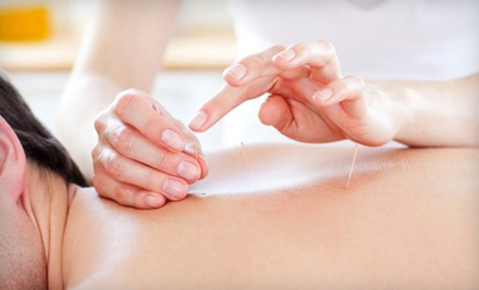 Massage with Option for Two Acupuncture Sessions, or Three Massages at Acupuncture Clinic NW (Up to 77% Off)